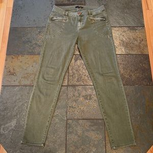 Fire Los Angeles Olive Green Jeans Size 3